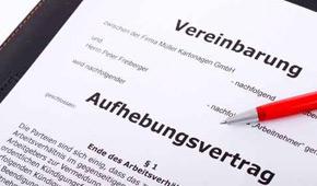 Aufhebungsvertrag Rechtsanwalt Dr Maack Hamburg Und Lüneburg